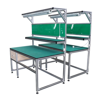 Aluminum Alloy Lifting Platform Extrusion For Aluminium Profile Workstation